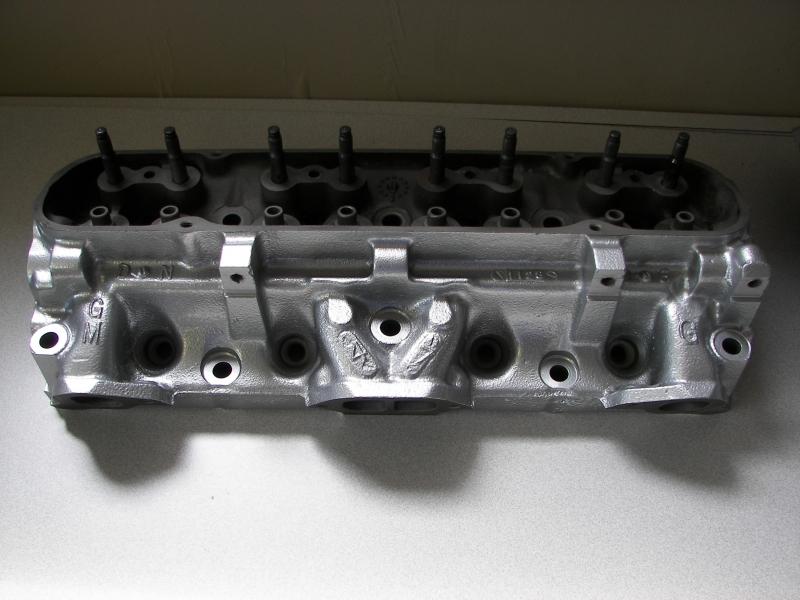 We powder coat iron and aluminum cylinder heads and blocks