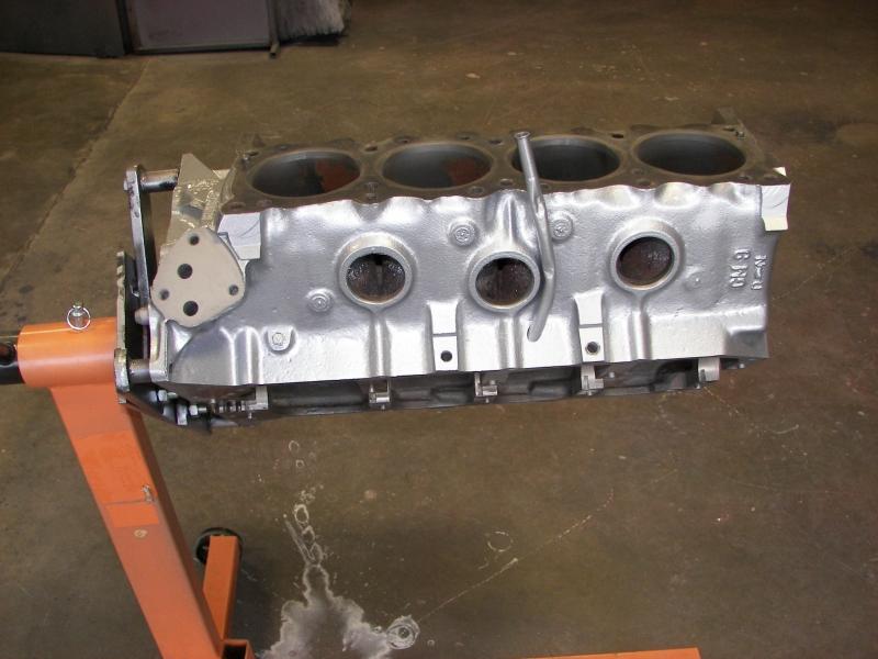We powder coat cast iron and aluminum blocks & heads