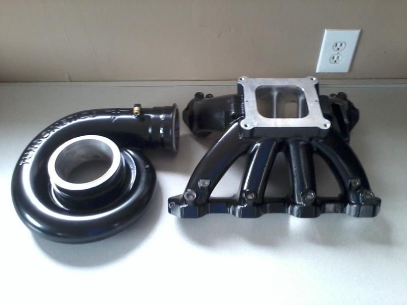 Turbo and manifold