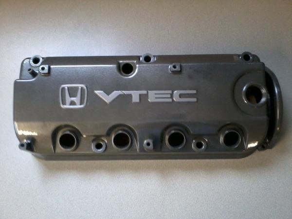 Honda VTEC cam cover in charcoal metalic