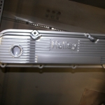 351 Cleveland valve cover in silver