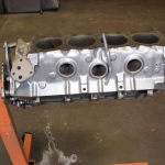We powder coat cast iron and aluminum blocks & heads