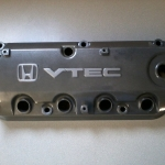 Honda VTEC cam cover in charcoal metalic