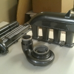 Turbo manifold & parts - Black Chrome 417 Motorsports