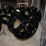 Set of BMW wheels