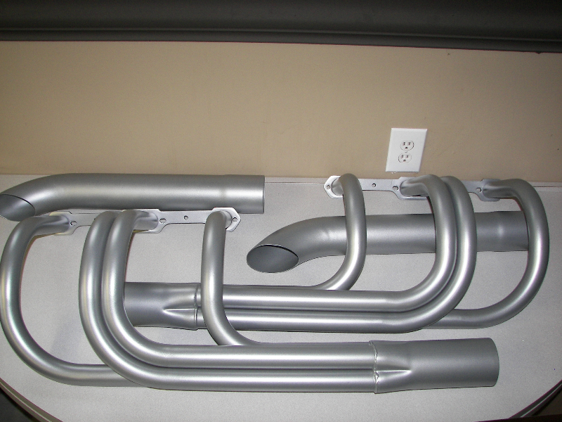 Aluminum ceramic on street rod headers