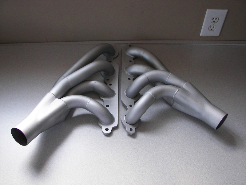 Aluminum ceramic on headers