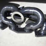 Turbo manifold - Black Ceramic