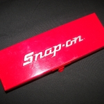 Snap-On box chrome and red
