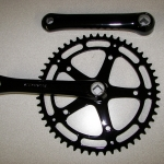 Crank parts - gloss black