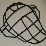 Titanium catchers mask-satin black
