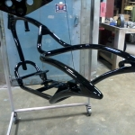 Another Thompson Choppers frame.