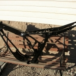 1978 Harley SX250 dirt bike frame