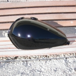 1978 Harley SX250 dirt bike tank L-side