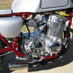 Another CB750 that we did