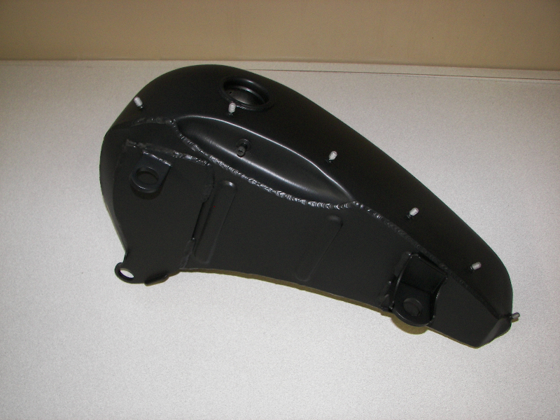 Harley tank in Satin Black