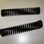 Springs for Indian front end - wet black