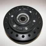 Wheel hub - matte black