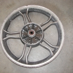 Yamaha 550 rear wheel - before